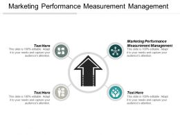 Marketing Performance Measurement Management Ppt Powerpoint Presentation Ideas Gridlines Cpb