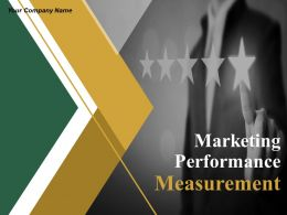 Marketing Performance Measurement Powerpoint Presentation Slides