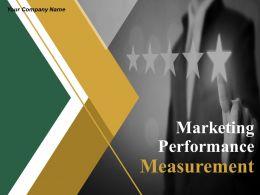 Marketing Performance Measurement Powerpoint Presentation Slides