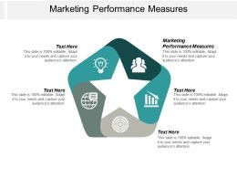 Marketing Performance Measures Ppt Powerpoint Presentation Ideas Icons Cpb
