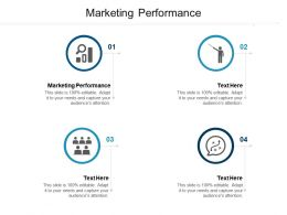 Marketing Performance Ppt Powerpoint Presentation Infographic Template Elements Cpb