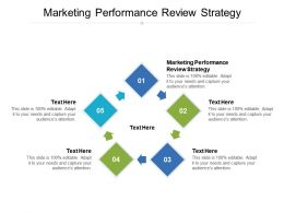 Marketing Performance Review Strategy Ppt Powerpoint Presentation Show Graphics Pictures Cpb