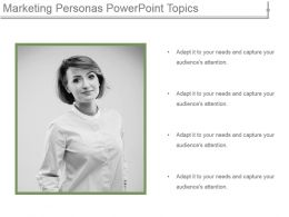 Marketing Personas Powerpoint Topics