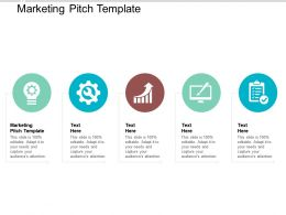 Marketing Pitch Template Ppt Powerpoint Presentation Infographics Graphics Example Cpb