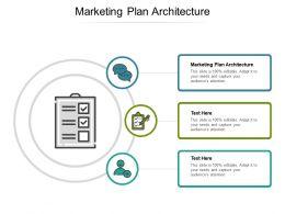Marketing Plan Architecture Ppt Powerpoint Presentation Slides Layout Ideas Cpb