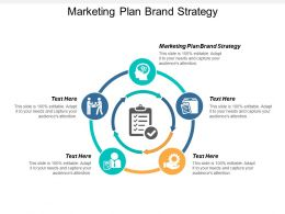 Marketing Plan Brand Strategy Ppt Powerpoint Presentation File Graphics Cpb