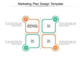 Marketing Plan Design Template Ppt Powerpoint Presentation Inspiration Sample Cpb