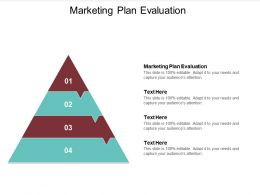 Marketing Plan Evaluation Ppt Powerpoint Presentation File Graphics Cpb