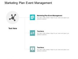 Marketing Plan Event Management Ppt Powerpoint Presentation Professional Background Image Cpb