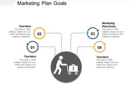 Marketing Plan Goals Ppt Powerpoint Presentation Layouts Clipart Cpb