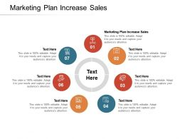 Marketing Plan Increase Sales Ppt Powerpoint Presentation Gallery Portrait Cpb