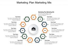 Marketing Plan Marketing Mix Ppt Powerpoint Presentation Summary Smartart Cpb