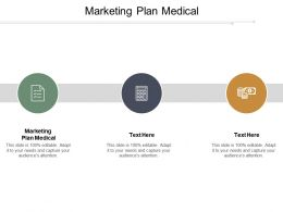 Marketing Plan Medical Ppt Powerpoint Presentation Icon Gallery Cpb