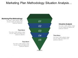 Marketing Plan Methodology Situation Analysis Marketing Strategy Plan