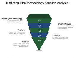 Marketing Plan Methodology Situation Analysis Marketing Strategy Plan