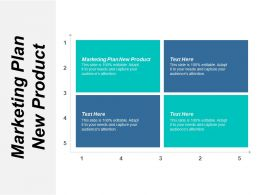 Marketing Plan New Product Ppt Powerpoint Presentation Layouts Designs Cpb