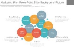 Marketing Plan Powerpoint Slide Background Picture