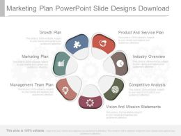 Marketing Plan Powerpoint Slide Designs Download