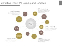 Marketing Plan Ppt Background Template