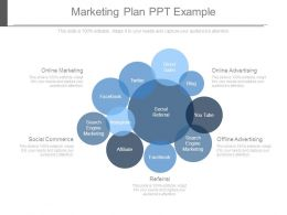 Marketing Plan Ppt Example