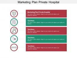 Marketing Plan Private Hospital Ppt Powerpoint Presentation Portfolio Structure Cpb
