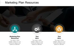 Marketing Plan Resources Ppt Powerpoint Presentation Gallery Grid Cpb