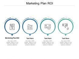 Marketing Plan ROI Ppt Powerpoint Presentation Pictures Gallery Cpb