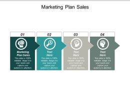 Marketing Plan Sales Ppt Powerpoint Presentation Outline Images Cpb