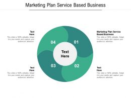 Marketing Plan Service Based Business Ppt Powerpoint Presentation Portfolio Background Cpb