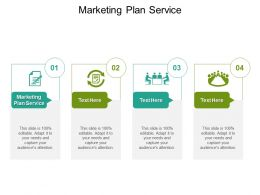 Marketing Plan Service Ppt Powerpoint Presentation Pictures Graphics Cpb