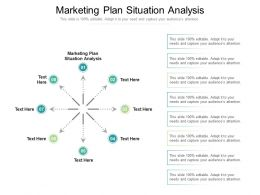 Marketing Plan Situation Analysis Ppt Powerpoint Presentation Outline Template Cpb