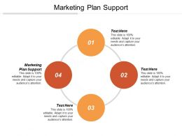 Marketing Plan Support Ppt Powerpoint Presentation Gallery Inspiration Cpb