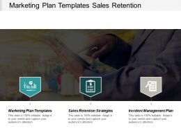 Marketing Plan Templates Sales Retention Strategies Incident Management Plan Cpb
