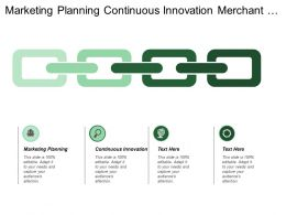 Marketing Planning Continuous Innovation Merchant Acquiring Business Partner