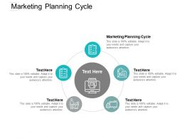 Marketing Planning Cycle Ppt Powerpoint Presentation Infographic Template Introduction Cpb