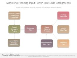 Marketing Planning Input Powerpoint Slide Backgrounds