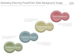 Marketing Planning Powerpoint Slide Background Image