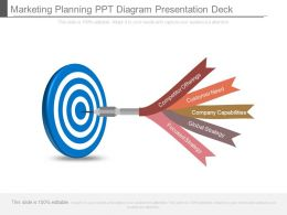Marketing Planning Ppt Diagram Presentation Deck