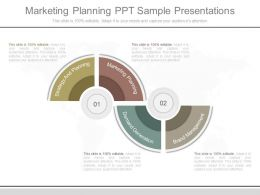 Marketing Planning Ppt Sample Presentations