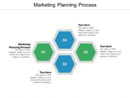 Marketing Planning Process Ppt Powerpoint Presentation Infographics Slides Cpb