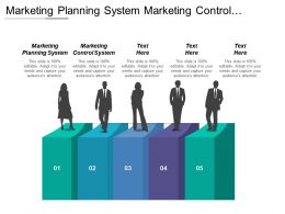 Marketing Planning System Marketing Control System People Skills
