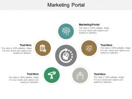 Marketing Portal Ppt Powerpoint Presentation Gallery Background Images Cpb