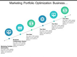 Marketing Portfolio Optimization Business Collaboration System Cpb