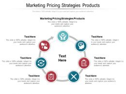 Marketing Pricing Strategies Products Ppt Powerpoint Presentation Designs Cpb