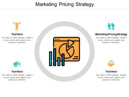 Marketing Pricing Strategy Ppt Powerpoint Presentation Ideas Design Inspiration Cpb