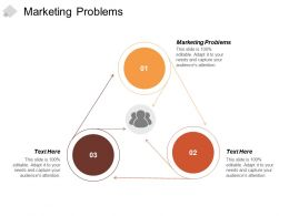 Marketing Problems Ppt Powerpoint Presentation Professional Visuals Cpb