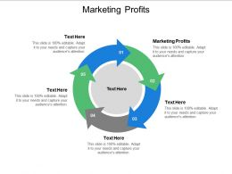 Marketing Profits Ppt Powerpoint Presentation Icon Designs Cpb