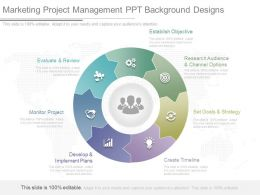Marketing Project Management Ppt Background Designs