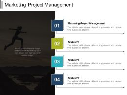 Marketing Project Management Ppt Powerpoint Presentation Infographic Template Rules Cpb