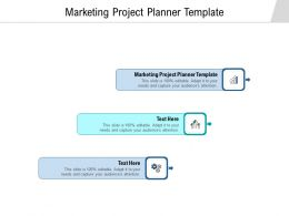 Marketing Project Planner Template Ppt Powerpoint Presentation Outline Skills Cpb